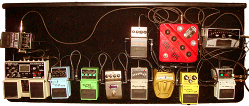 RANDI pedalboard is endorsed by Rubo